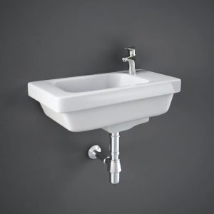 Resolve Cloakroom Basin 1 Tap Hole 450mm