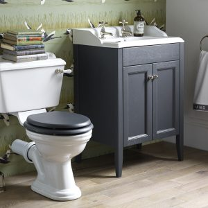 Caversham Exclusive Offer - Floor Standing Door Unit, Basin, Wc, Seat & Taps In Five Colours