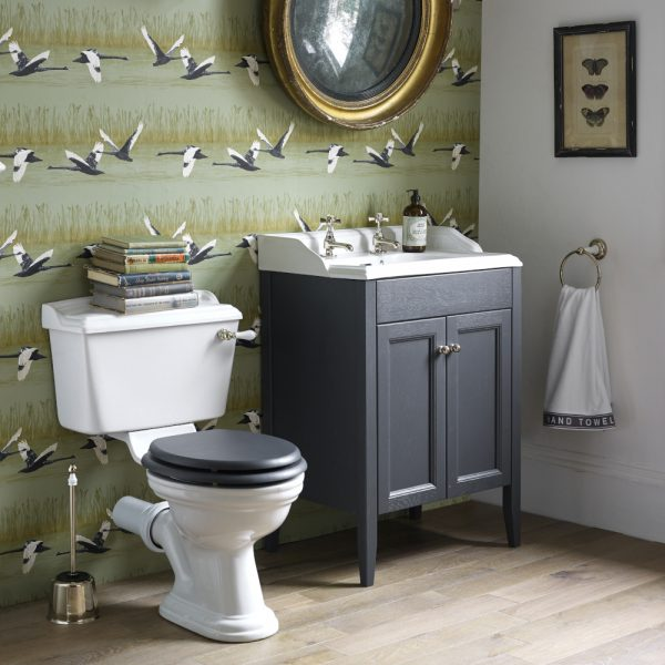 Heritage Bathrooms Caversham Offer - Vanity Unit, Basin, Taps, Toilet.