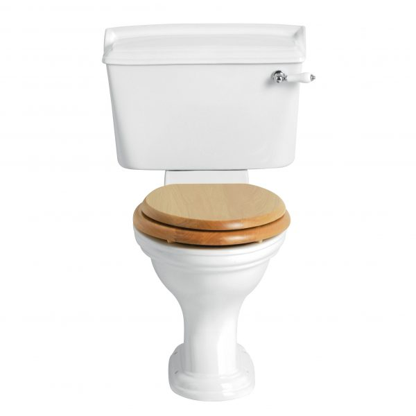 Heritage Dorchester Close Coupled Toilet with Ceramic Lever