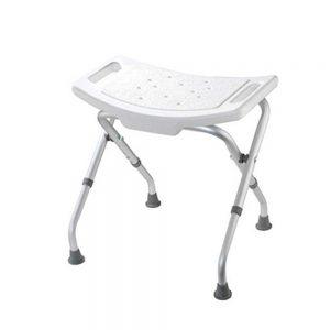 Adjustable Height Bathroom Care Seat Cutout