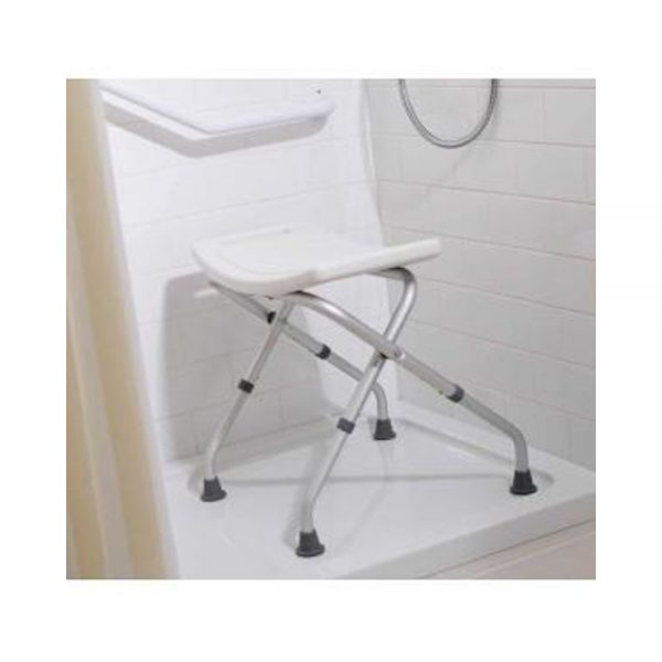 Adjustable Height Bathroom Care Seat