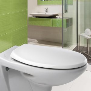 Carrara & Matta Atlantic Spa Sta-Tite Toilet Seat Thermoplastic White