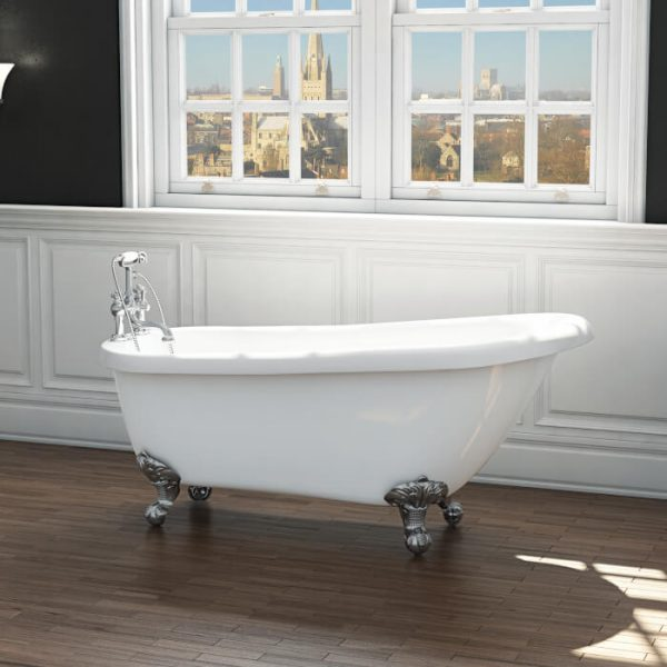 Brentwood Single Ended Freestanding Bath 1555x725mm