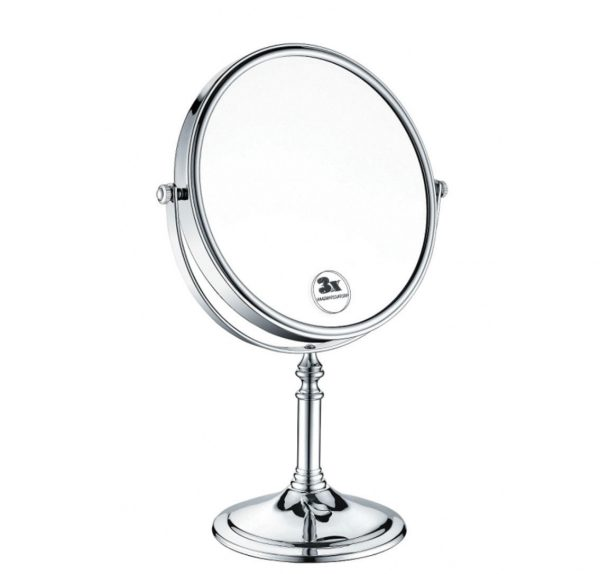 Bristan-8-inch-Double-Sided-Free-Standing-Mirror-In-Chrome