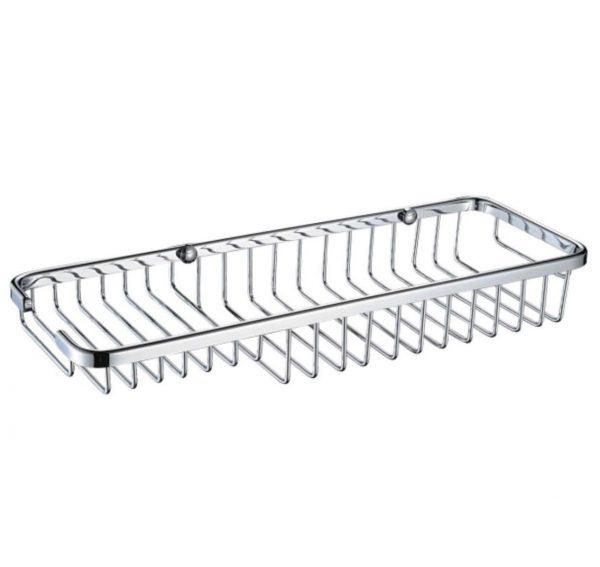 Bristan Medium Wall Fixed Wire Basket In Chrome
