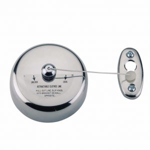 Bristan Retractable Chrome Clothes Line