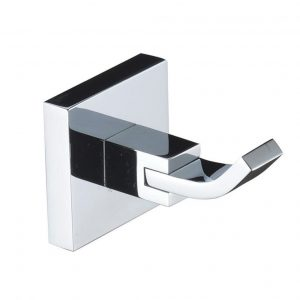 Bristan Square Robe Hook In Chrome