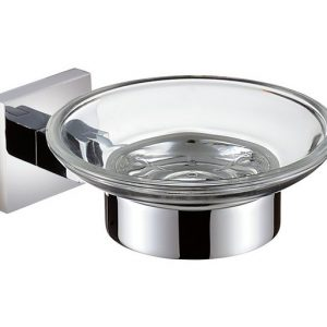Bristan Square Soap Dish in Chrome