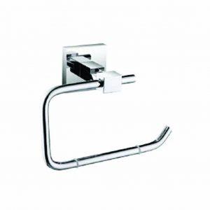Bristan Square Toilet Roll Holder in Chrome