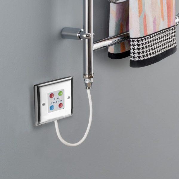 Towel Rail Control Plate Chrome Cover