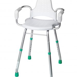 Croydex Adjustable Height Care Shower Stool
