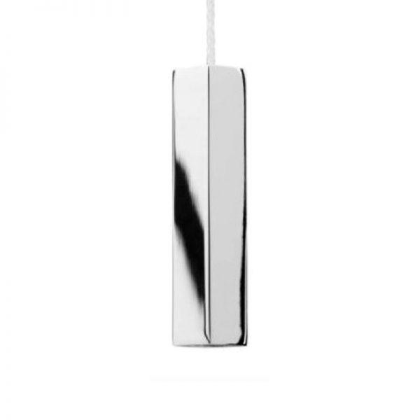 Croydex Square Light Pull In Chrome