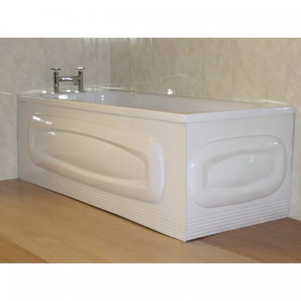 Cavalier Oval End Bath Panel 800mm In Gloss White