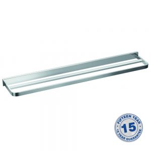 Flova Sofija Double Towel Rail In Chrome