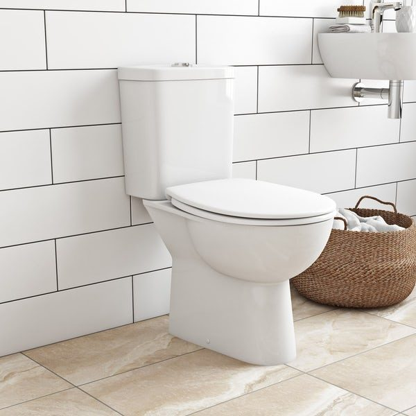 Grohe Rimless Close Coupled Toilet & Soft Close Seat
