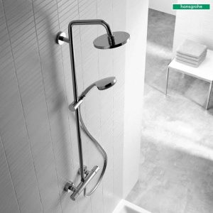 Hansgrohe-Croma-160-Mixer-Shower-System-In-Chrome-2