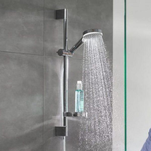 Hansgrohe Crometta 2 Jet Unica Set Shower Kit In Chrome