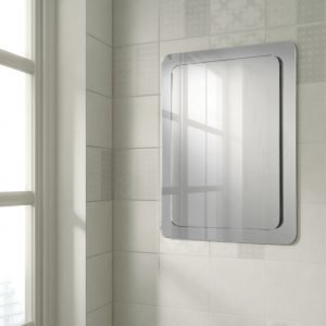 HiB Abbi Mirror Rectangular With Curved Corners 500mm x 700mm