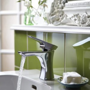 Bristan Hourglass Basin Mono In Chrome