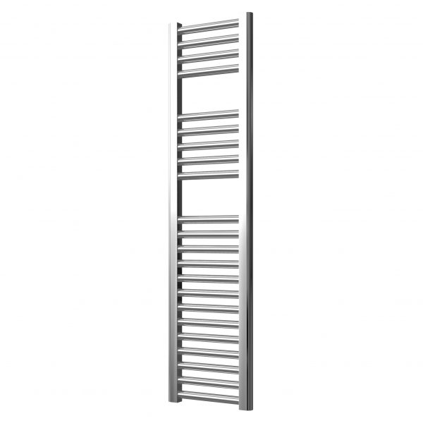 Deluxe Towel Rail 25mm Straight 300 Wide In Chrome Multiple Heights