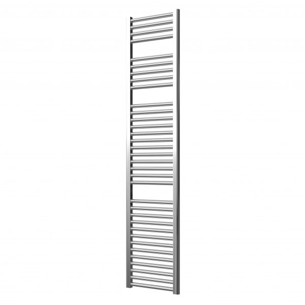 Deluxe Towel Rail 25mm Straight 400 Wide In Chrome Multiple Heights