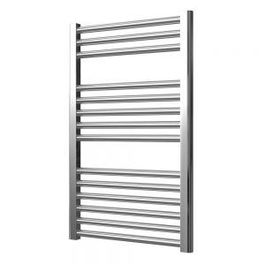 Towel Ladder Rail Straight 22mm 500 Wide In Chrome - Available in Multiple Heights