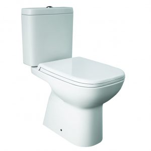 Orlando Square Close Coupled Toilet & Soft Close Seat