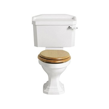 Heritage Granley Close Coupled Toilet with Ceramic Lever