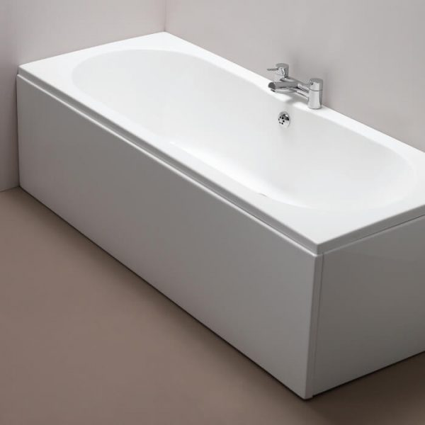 Pura Reinforced Front Bath Panel 1700, 1800mm In Gloss White