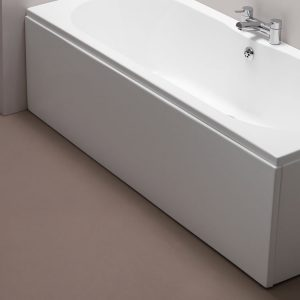 Trojan Supa Luxury Front Bath Panel 1500, 1600, 1700, 1800mm In Gloss White