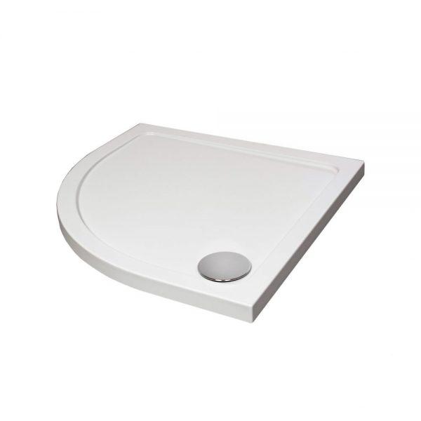 Slimline Quadrant Tray In White Various Sizes (3)