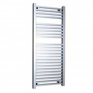 Loren Designer Towel Rail Wall Mounted Towel Warmer 500 Width – Available in multiple Heights