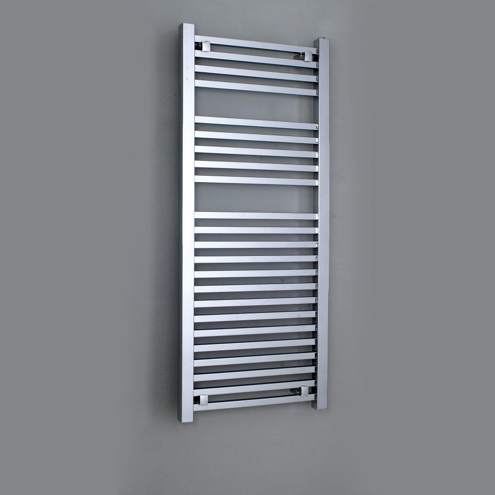 Loren Designer Towel Rail Wall Mounted Towel Warmer 500 Width ...