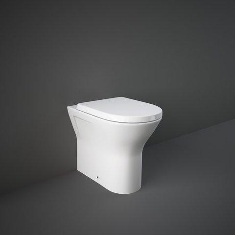 RAK Resolve Rimless Mini BTW Toilet & Seat