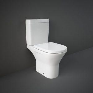 RAK Resolve Rimless Mini Toilet & Seat