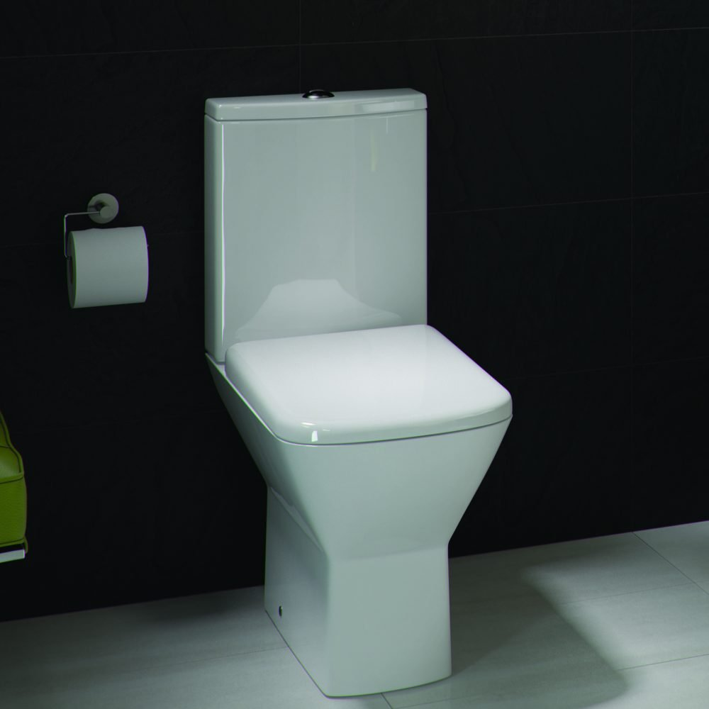 K2 Close Coupled Toilet & Seat