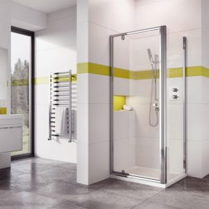 IN6 V2 Pivot Door 6mm In Chrome 700, 760, 800, 900mm