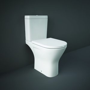 Resolve Rimless Maxi Toilet & Seat