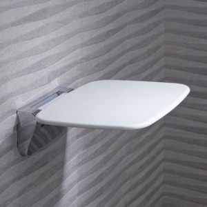 Roper Rhodes Deluxe Shower Seat In White