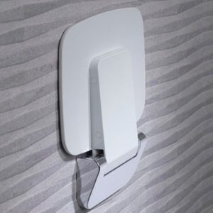 Deluxe Shower Seat In White-tec