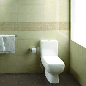 Serena Close Coupled Toilet & Seat