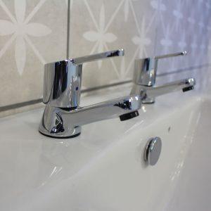 SPH12 Basin Cloakroom Taps In Chrome