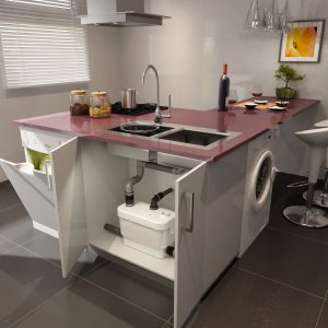 Saniflo Sanivite Macerator Basin, Appliances, Bath & Sink