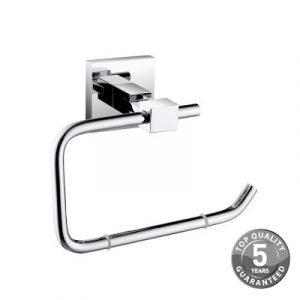 Simply Square Toilet Roll Holder in Chrome