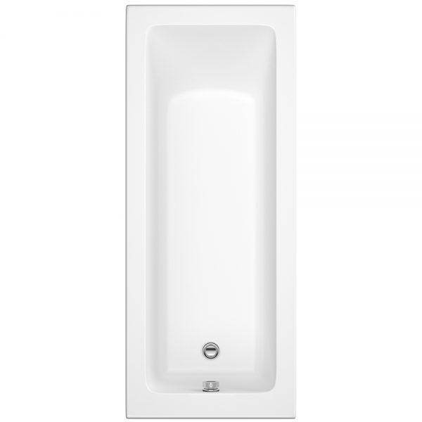 Trojan Solarna Bath Single Ended 5mm 1800x800mm In White