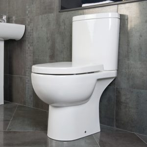 Toone Close Coupled Toilet & Soft Close Seat