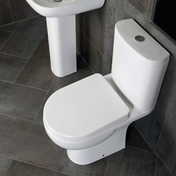 Toone Close Coupled Toilet & Soft Close Seat