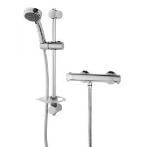 Triton Dene LP Thermostatic Mixer Shower With Slide Rail Kit