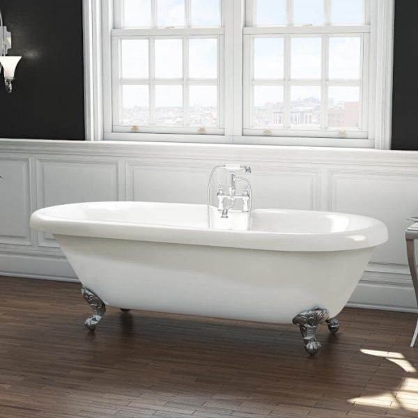 Wilmslow Double Ended Freestanding Bath 1695x755mm
